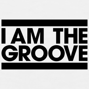 I am the Groove Bottles & Mugs - Men's Premium Tank
