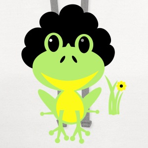 Afro Froggy Kids' Shirts - Contrast Hoodie