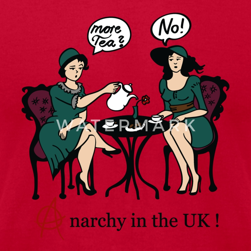 More Tee? No! - Anarchy in the UK! T-Shirts - Men's T-Shirt by American Apparel