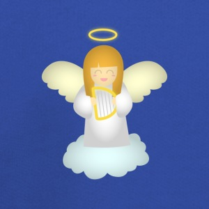 cute guardian angel with harp Bags & backpacks - Kids' Premium Hoodie
