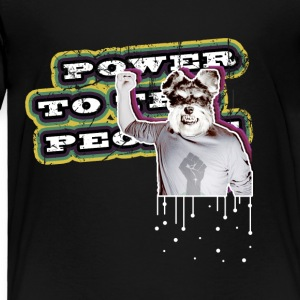 Power To The People - Dog - Toddler Premium T-Shirt