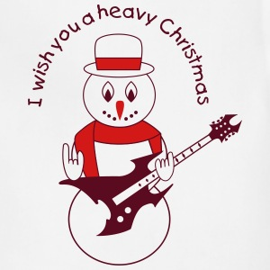Metal snowman for white Baby & Toddler Shirts - Adjustable Apron