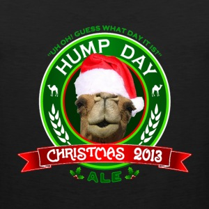 Hump Day Camel Christmas Ale Womens T-shirt - Men's Premium Tank