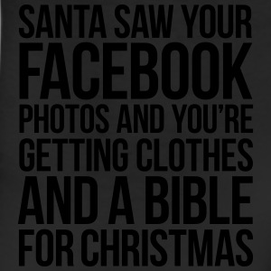 SANTA SAW YOUR FACEBOOK PHOTOS T-Shirts - Leggings