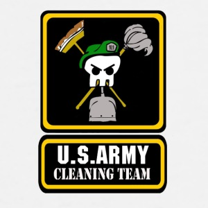 Army Cleaning Team Bottles & Mugs - Men's Premium T-Shirt