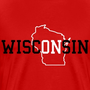 WiscONsin Hoodies - Men's Premium T-Shirt