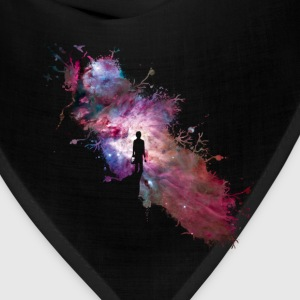 Starry sky painter supernova space star 02 Women's T-Shirts - Bandana