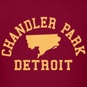 Chandler Park Detroit Hoodies - Men's T-Shirt