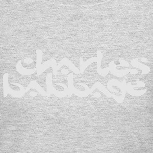 Charles Babbage / Chemical Brothers T-Shirts - Women's Long Sleeve Jersey T-Shirt