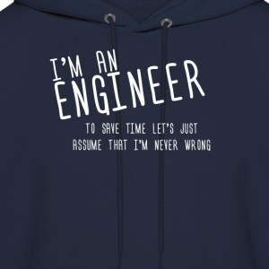 i'm an enginer - Men's Hoodie