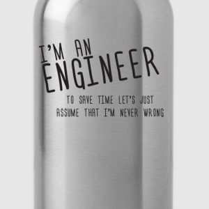 i'm an engineer  - Water Bottle