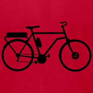 electric bicycle_b1 Sweatshirts - Men's T-Shirt by American Apparel