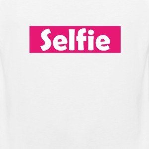 Selfie Women's T-Shirts - Men's Premium Tank