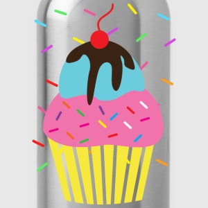 Birthday Cupcake Icecream Sprinkles - Water Bottle