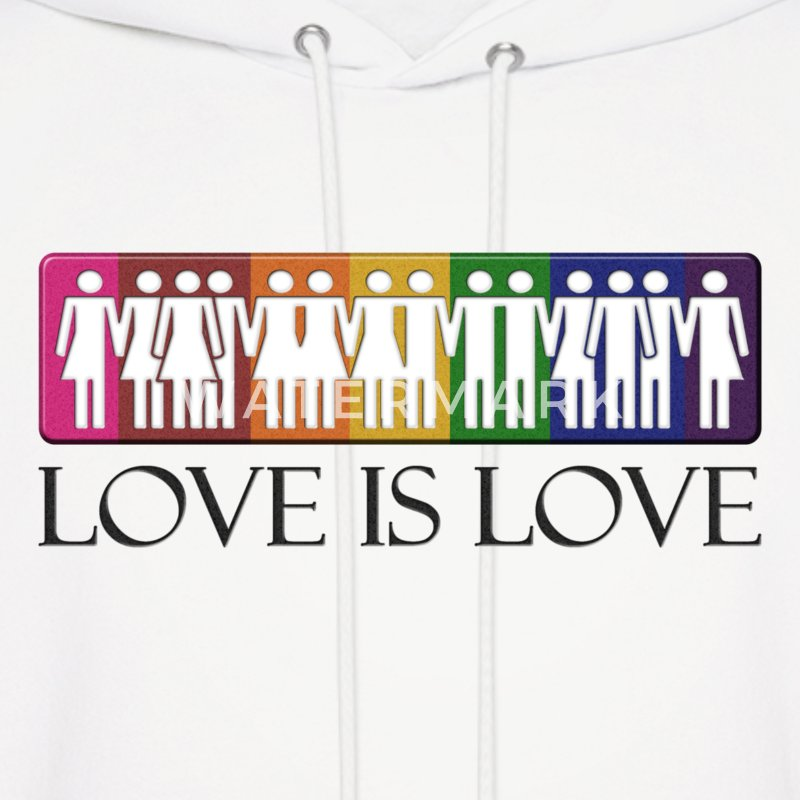Love is Love - LGBT Equality Hoodies - Men's Hoodie