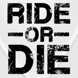Ride Or Die Black Mugs & Drinkware - Bandana