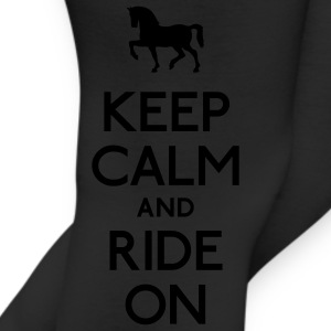 keep calm and ride on Women's T-Shirts - Leggings