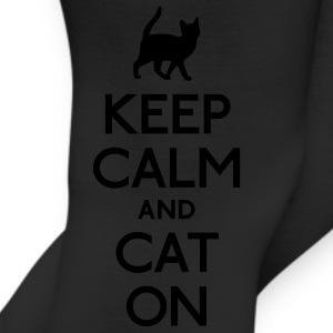 keep calm and cat on Bags & backpacks - Leggings