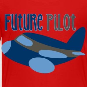 Future Pilot Kids' Shirts - Toddler Premium T-Shirt