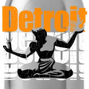 Vintage 1980s DETROIT (Distressed Design) - Water Bottle