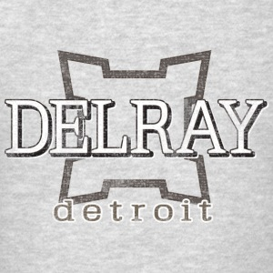 Delray, Detroit Hoodies - Men's T-Shirt