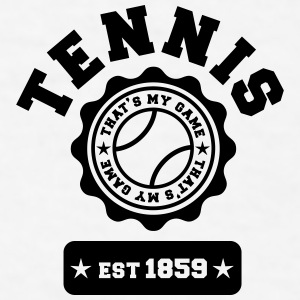 Tennis my Game Bottles & Mugs - Men's T-Shirt