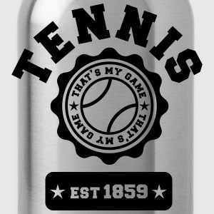 Tennis my Game Hoodies - Water Bottle