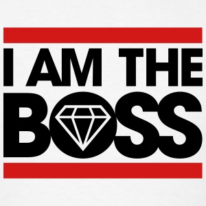 I am the Boss Hoodies - Men's T-Shirt