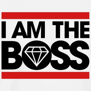 I am the Boss Hoodies - Men's Premium T-Shirt