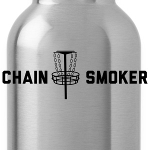 Chain Smoker - Disc Golf T-Shirts - Water Bottle