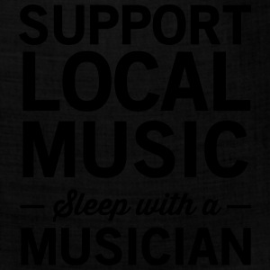 Support local music. Sleep with a musician Women's T-Shirts - Bandana