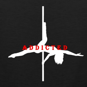 Addicted to Pole White Women's T-Shirt - Men's Premium Tank