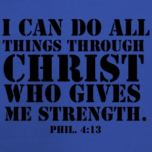 I Can Do All Things Through Christ Who Gives Me  - Kids' Premium Hoodie