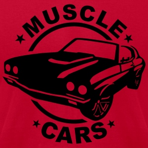 Muscle cars Hoodies - Men's T-Shirt by American Apparel