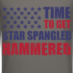 time_to_get_star_spangled_hammered T-Shirts - Crewneck Sweatshirt