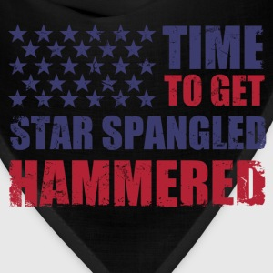 time_to_get_star_spangled_hammered T-Shirts - Bandana