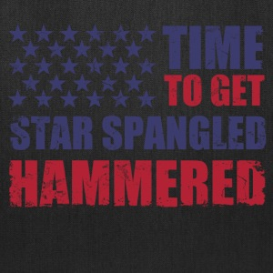 time_to_get_star_spangled_hammered T-Shirts - Tote Bag