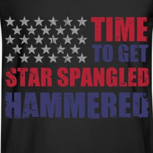 star_spangled_hammered T-Shirts - Men's Long Sleeve T-Shirt