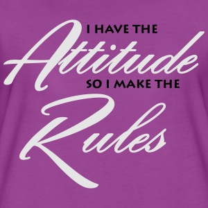 I have the attitude so i make the rules Baby & Toddler Shirts - Women's Premium T-Shirt