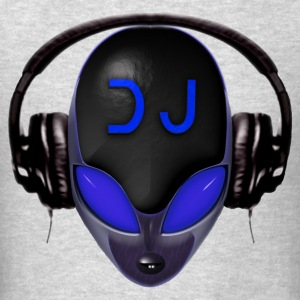 Alien DJ - Blue - Hard Shell Bug - Womens Hoodie - Men's T-Shirt