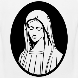 Mary Mother Of God T-Shirts - Men's Premium Tank