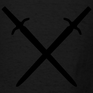 crossed swords Bags & backpacks - Men's T-Shirt