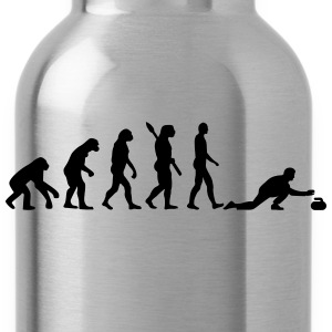 Curling Evolution T-Shirts - Water Bottle
