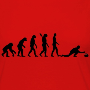 Curling Evolution T-Shirts - Women's Premium Long Sleeve T-Shirt