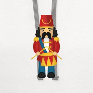 cute nutcracker like soldier with drums Baby & Toddler Shirts - Contrast Hoodie