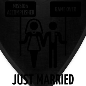 Just Married – Mission Accomplished – Game Over Women's T-Shirts - Bandana