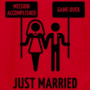 Just Married – Mission Accomplished – Game Over Women's T-Shirts - Unisex Fleece Zip Hoodie by American Apparel
