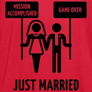 Just Married – Mission Accomplished – Game Over Women's T-Shirts - Women's Flowy Tank Top by Bella