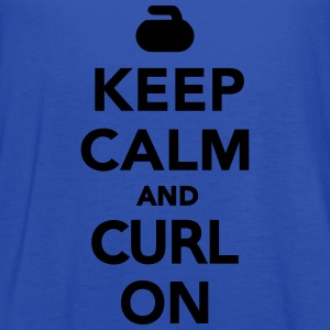Keep calm and curl on T-Shirts - Women's Flowy Tank Top by Bella