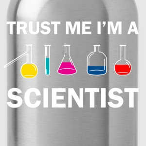 trust me i'm a scientist - Water Bottle